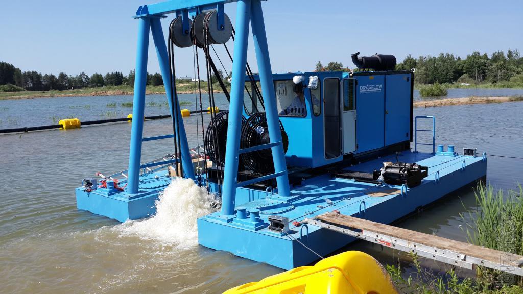 Земснаряд, принцип работы судна для очистки рек и прудов - mtz-80.ru