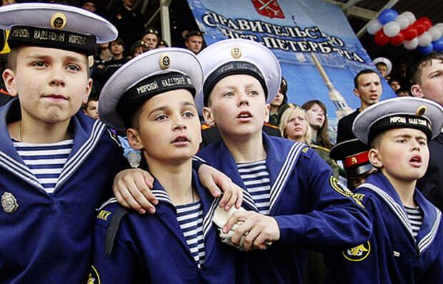 Почему у моряков на воротнике 3 полоски? гипотезы, фото и видео