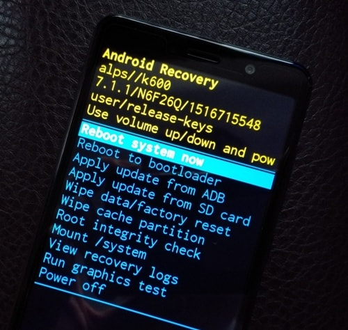 Как зайти в recovery mode android