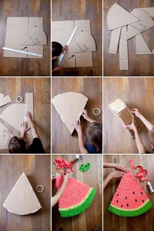 Пиньята своими руками: мастер-класс и особенности создания игрушек интересных форм (100 фото)