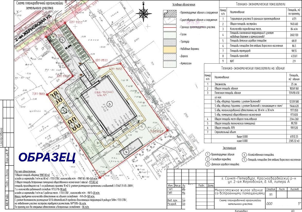 Ситуационный план земельного участка 2020: скачать бесплатно