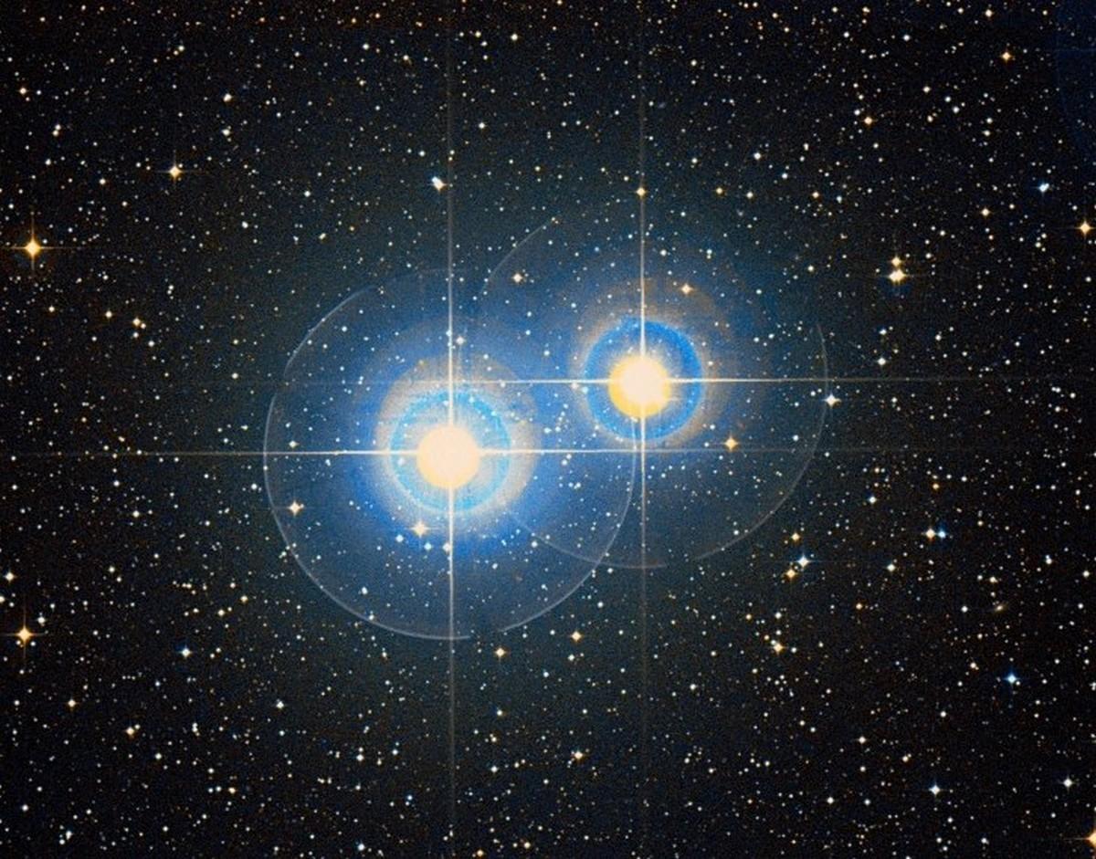 Двойная звезда — википедия. что такое двойная звезда