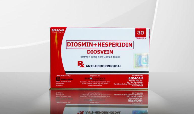 Гесперидин + диосмин: обзор лекарственных средств