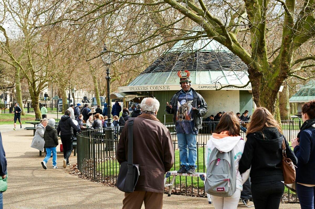Гайд парк в лондоне (hyde park) - история и информация для туристов