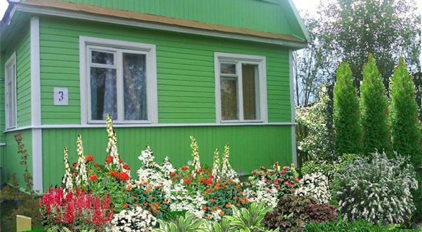Палисадник вокруг дома в саду: советы садоводам