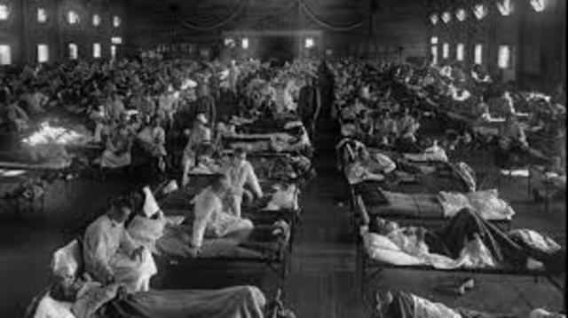 Испанский грипп — википедия. что такое испанский грипп