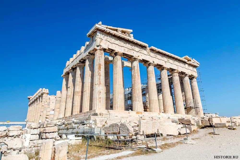 Храм парфенон: история и обзор исторического объектаафинского акрополя