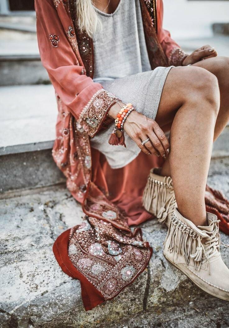Бохо-стиль в одежде