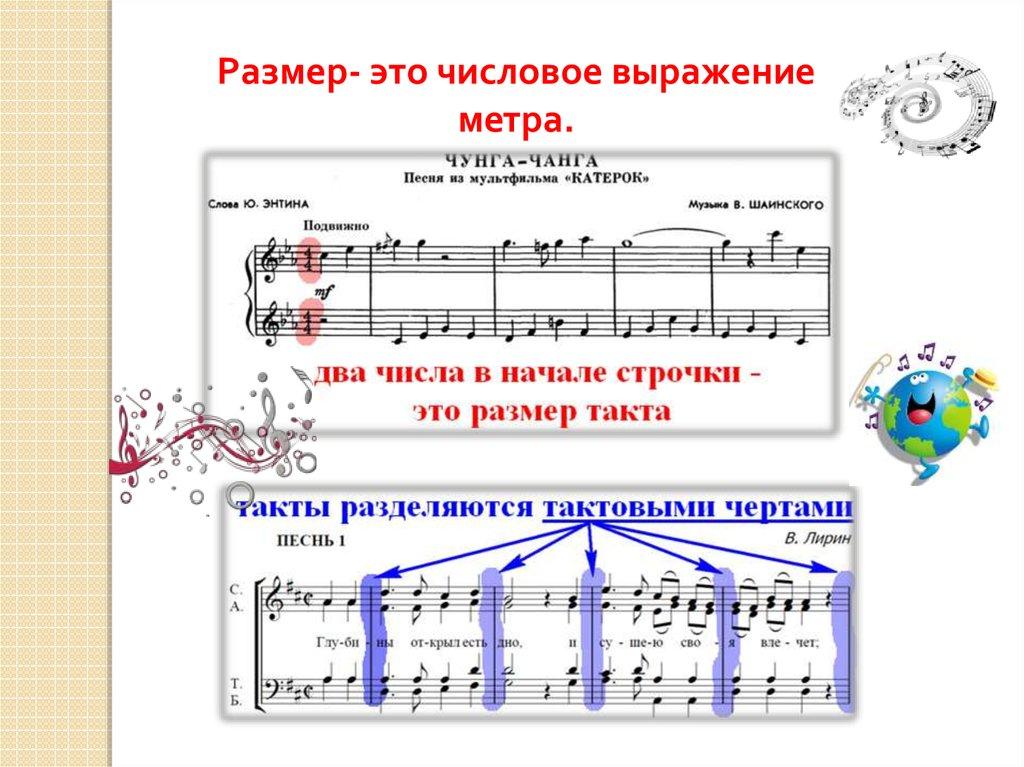 Что такое размер и метр в музыке?