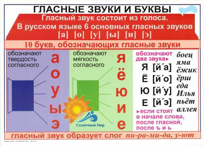Звуки и буквы русского языка — правила фонетического разбора
