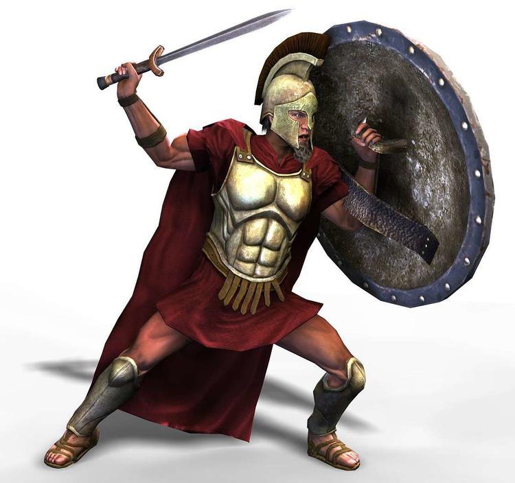 Город спарта, долина лакония. античный акрополь