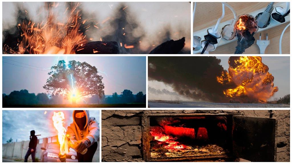 Самовозгорание: виды и чем отличается от самовоспламенения