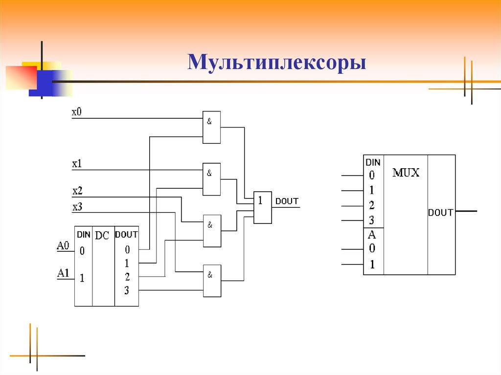 Мультиплексор (электроника) — википедия переиздание // wiki 2