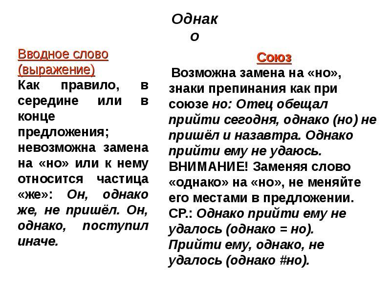 Вводные слова в русском языке. примеры предложений