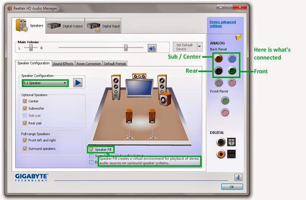 Полная настройка и установка realtek high definition audio