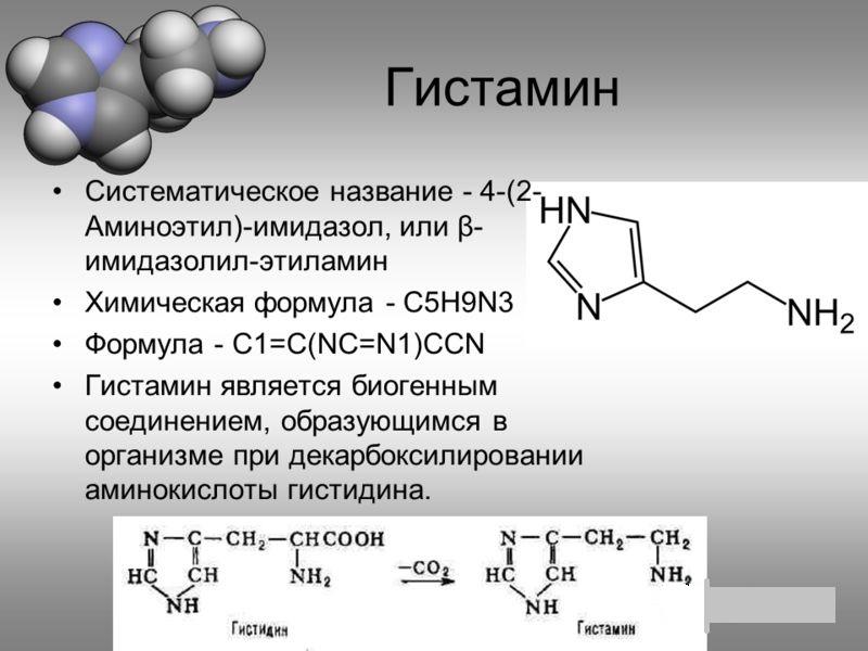 Что значит гистамин: его функции, рецепторы и роль в организме