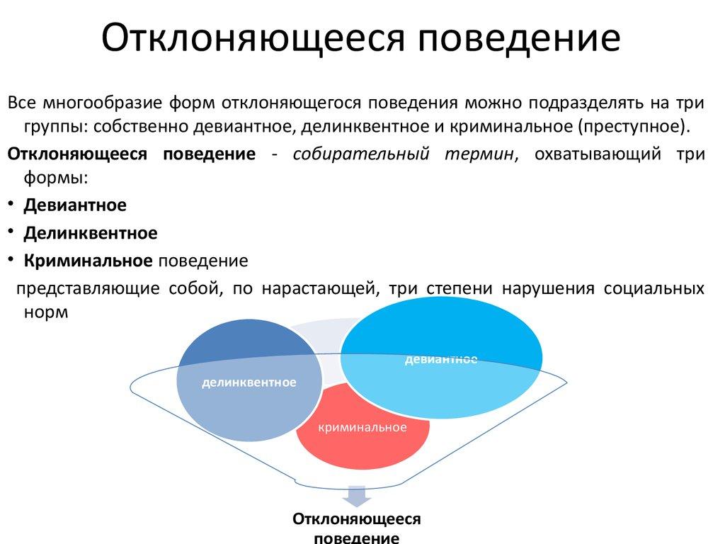 Делинквентное поведение: что такое в психологии, примеры, признаки и формы, отличие от девиантного поведения