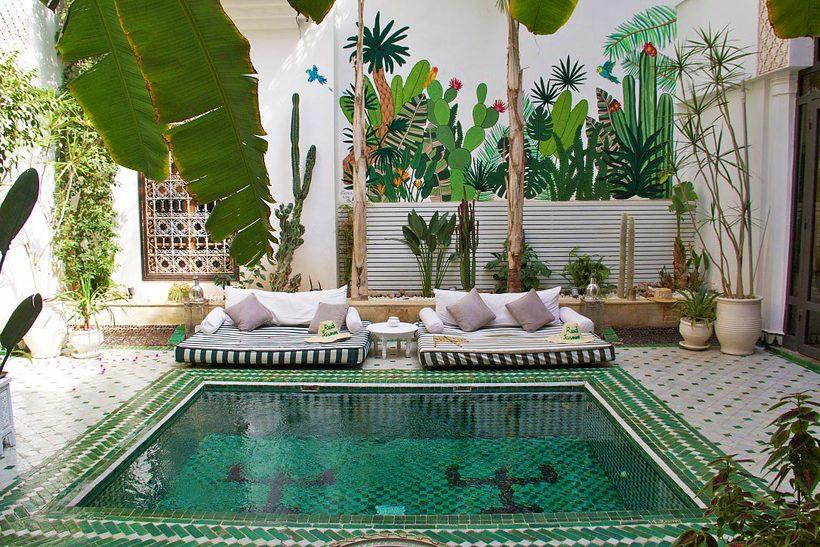 Курортный город марракеш: имперский город в марокко