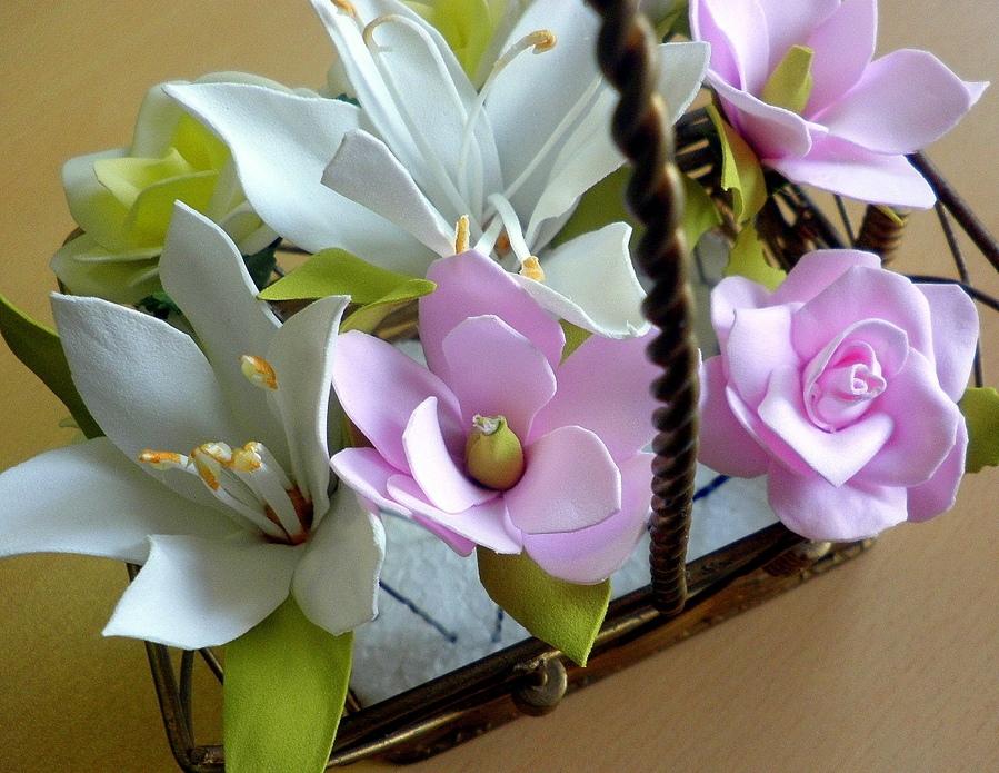 Что такое фоамиран. как делать цветы из фоамирана?