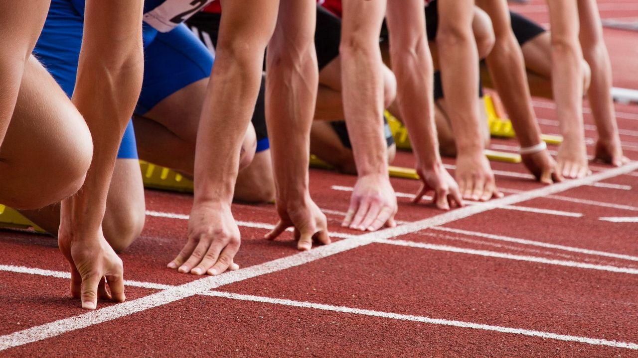 Высокий старт: техника выполнения, команды. легкая атлетика