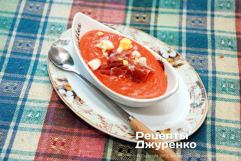 Сальморехо (суп из помидоров)