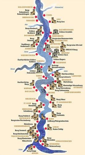 Река рейн: где находится, города на рейне, карта