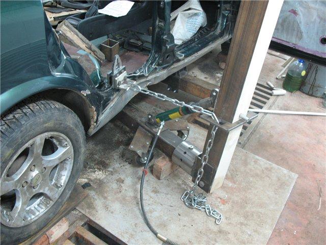 Стапель для кузовного ремонта: 4 вида конструкций   auto-gl.ru