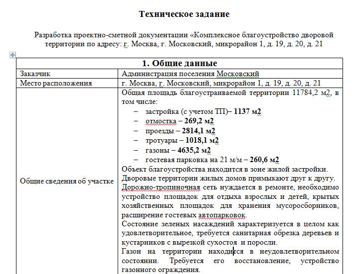 Правила составления технического задания потребованиям 44-фз