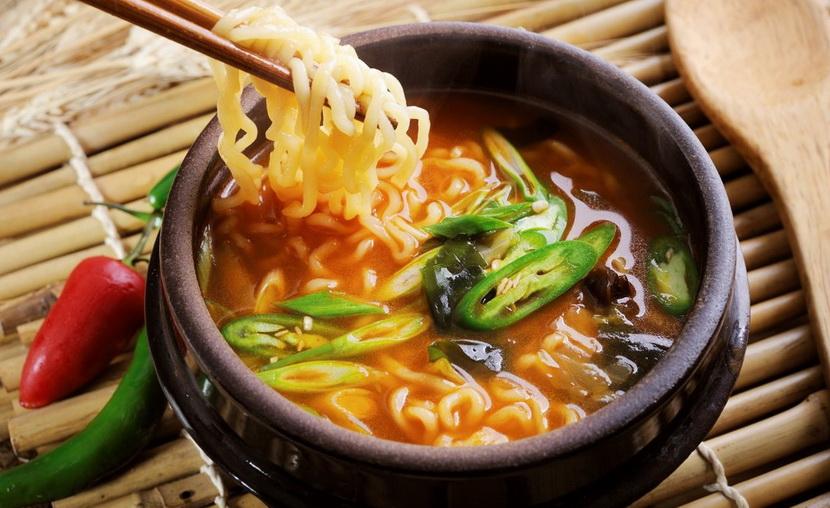 Суп рамен, пошаговый рецепт приготовления лапши рамэн