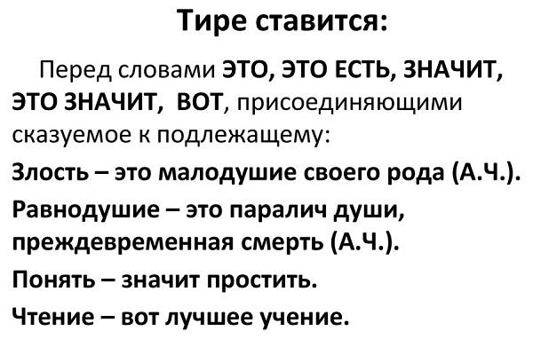 Тире перед «это»