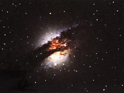 Виды галактик с активными ядрами