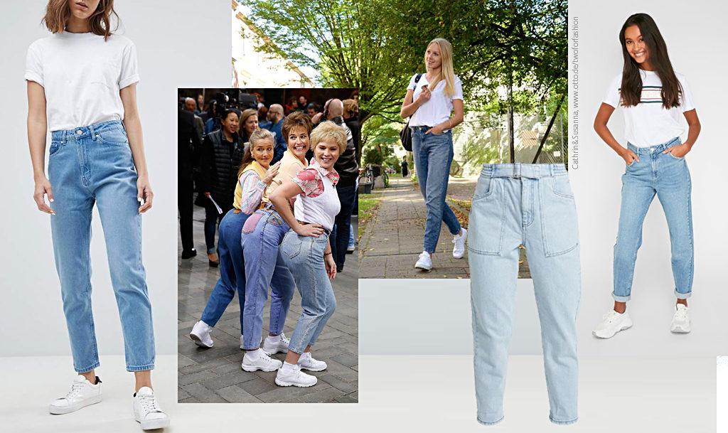 Джинсы-мом – чем отличаются от бойфрендов, кому идут и с чем носить mom jeans?