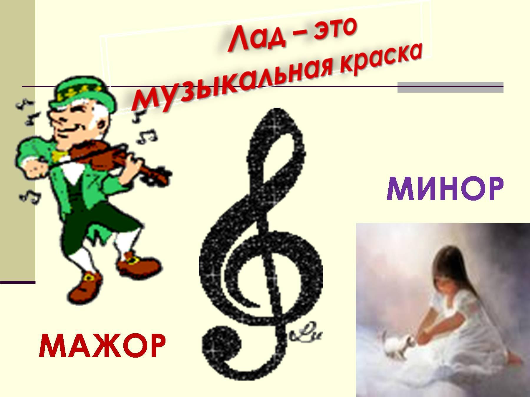 Гармонический минор и мажор