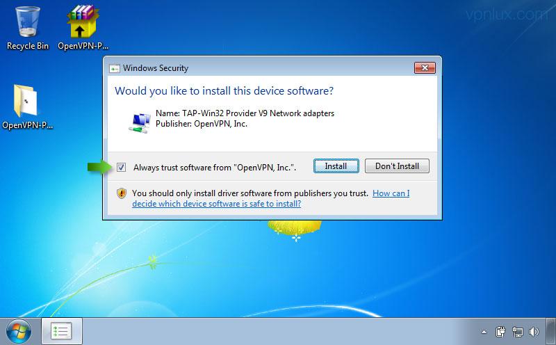 Скачать драйверы tap-windows adapter v9 для  windows xp x64