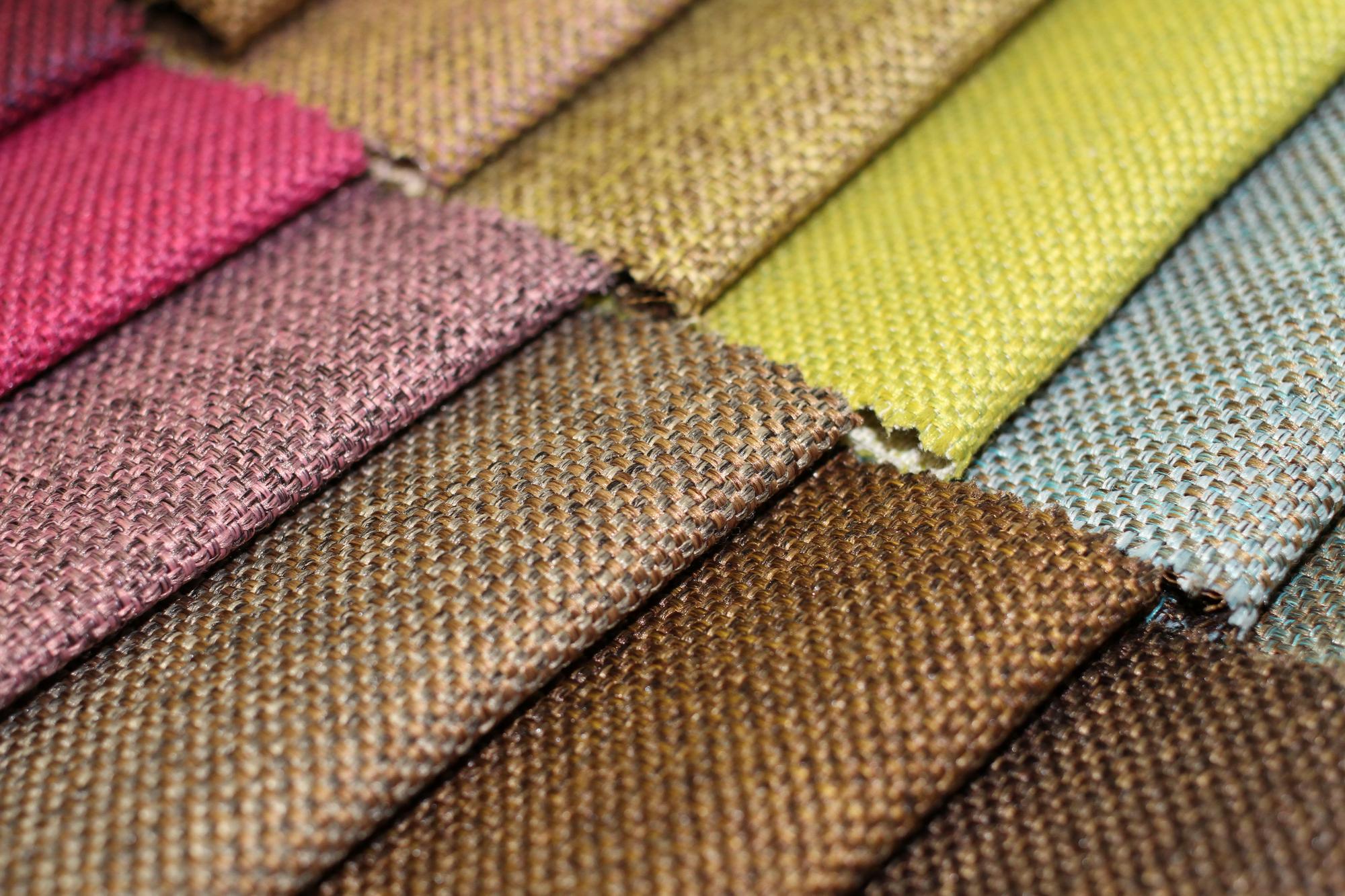 Ткань рогожка - свойства и применение в текстиле дома