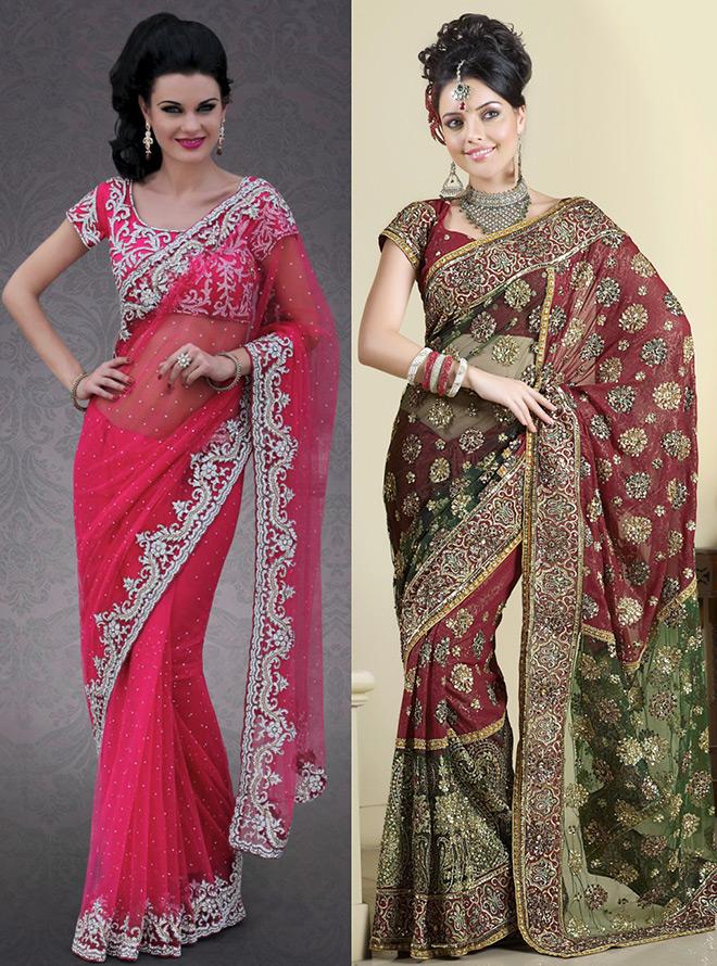 Индийское сари носят и сегодня — чем это удобно