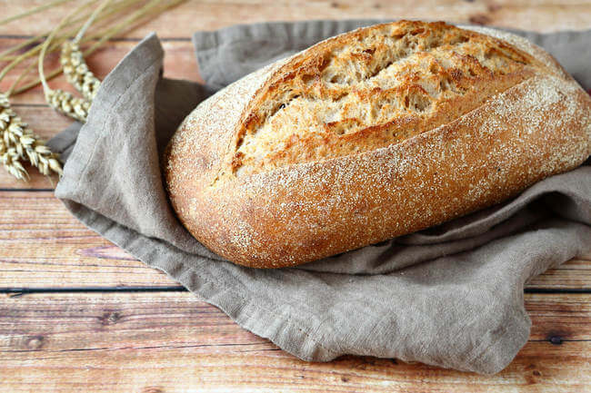 Цельнозерновой хлеб - рецепты с фото. как приготовить хлеб из цельнозерновой муки на закваске или дрожжах