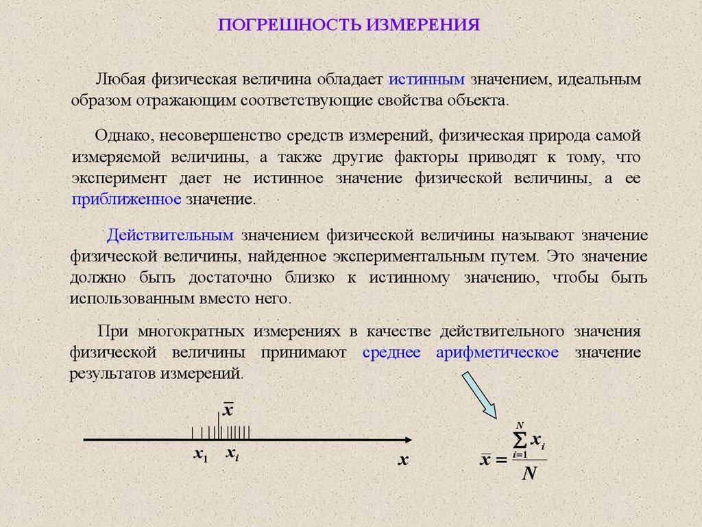 Погрешность измерения