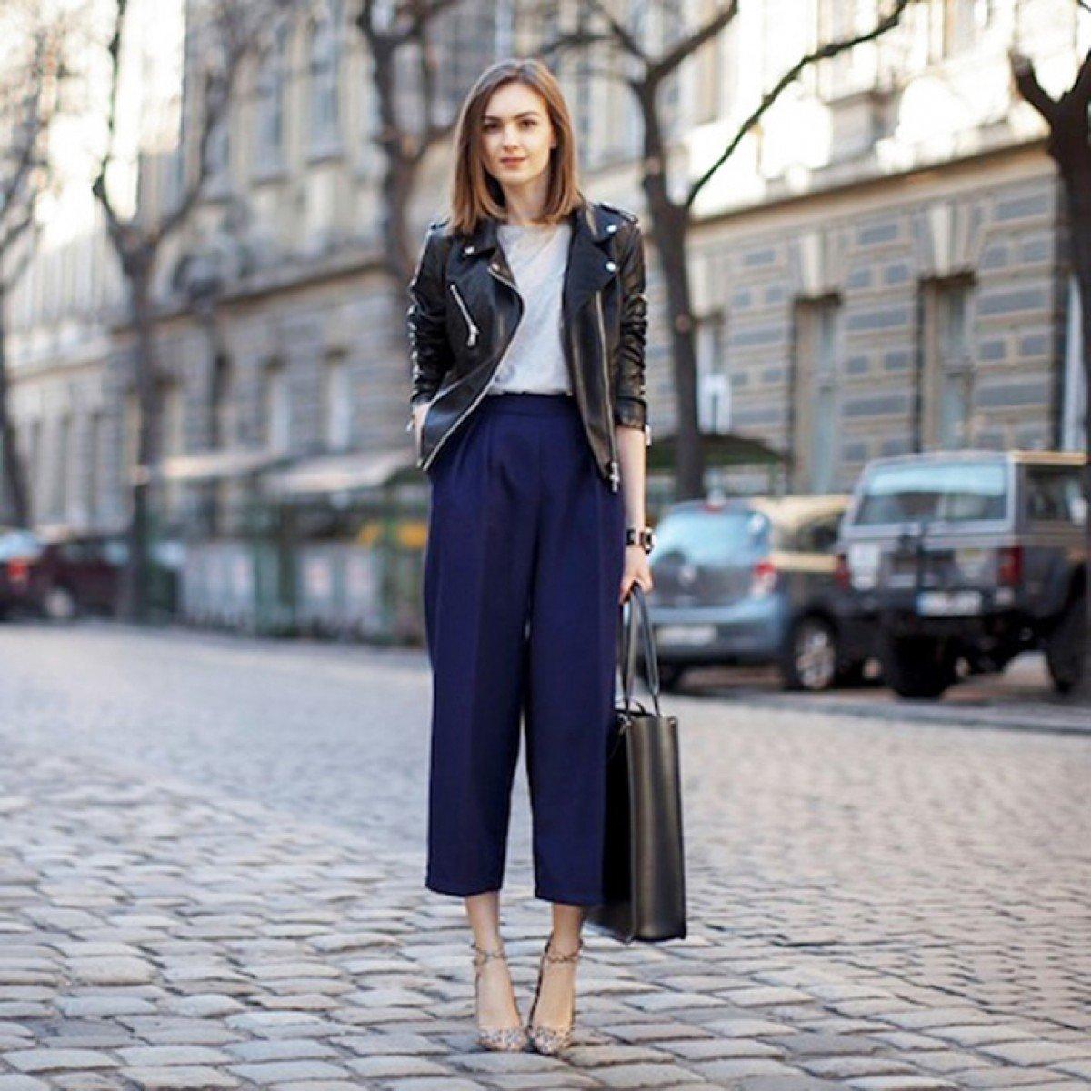 Брюки-кюлоты – модный женственный тренд 2020-2021