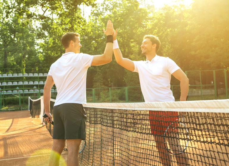Правила игры в теннис