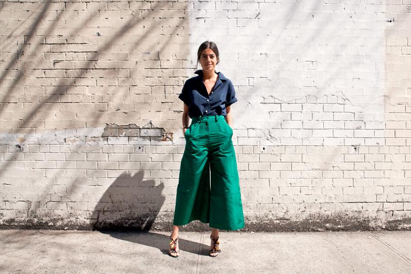 Женские брюки-кюлоты-2019: фото модных образов, с чем носить штаны-кюлоты