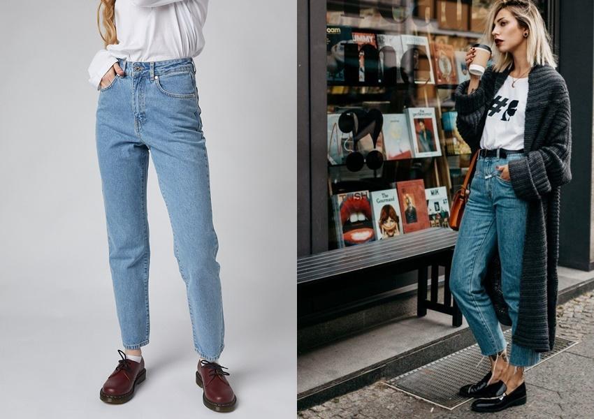 Чем отличаются мом джинсы от бойфрендов