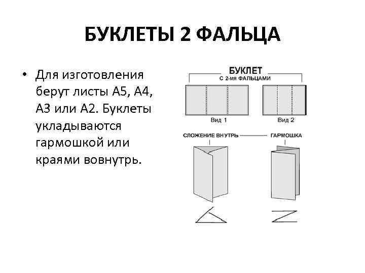 Буклеты: что это, виды и форматы буклетов, чем отличаются от брашюр