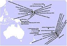 История океании — википедия. что такое история океании