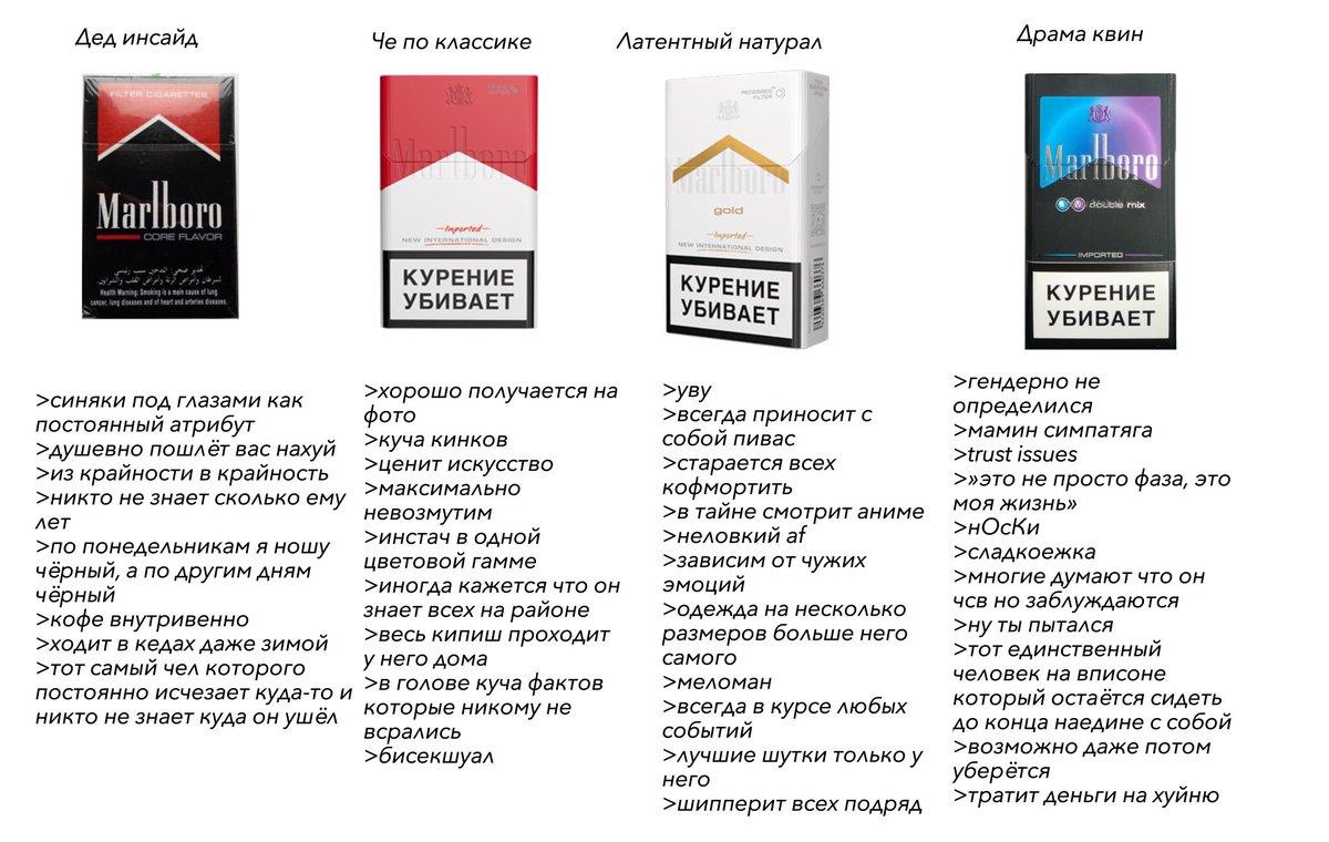 """Известные сигареты """"мальборо"""": виды"""