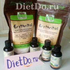 Эритритол - заменитель сахара нового поколения