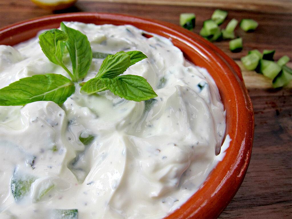 Йогурт греческий – кулинарный рецепт