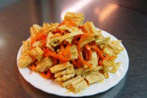 Спаржа по корейски: 7 пошаговых рецептов, из чего делается, калорийность, польза и вред для организма