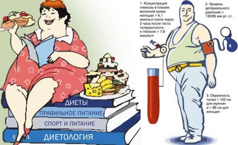 Метаболический синдром что это такое? - здоровая россия