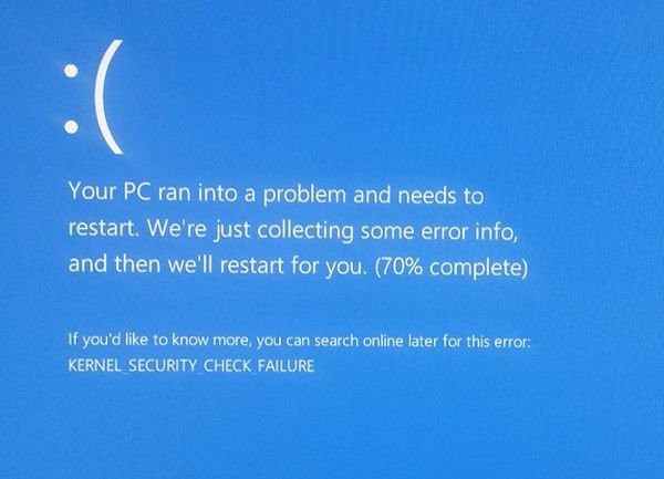 Fix: kernel security check failure ram in windows 10